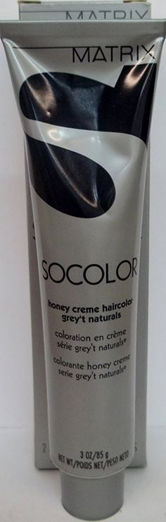 Socolor by Matrix - Honey Creme Hair Color - 'Grey't Natural' Series - Size: 3.0 Fl. Oz. - Shade Selection: 503-R - Darkest Natural Red Brown *** Click image for more details.