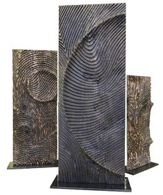 Etienne moyat wooden totem Ref : 138 Art Sculpture, Stone Sculpture, Abstract Sculpture, Wall Sculptures, Wooden Art, Wood Wall Art, Contemporary Sculpture, Wood Carving, Tree Carving
