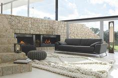 Geweldige combinatie en hele mooie trap #woonkamer #bankstel #sofa