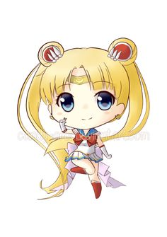 Sailor Moon chibi by Candy-Arts on DeviantArt