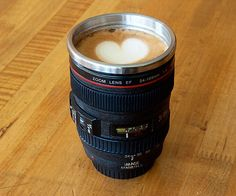 Canon Lens Mug - So cute for all of the Canon wielding shooters: @damali abrams @Kristal Mosley @Patranila Jefferson
