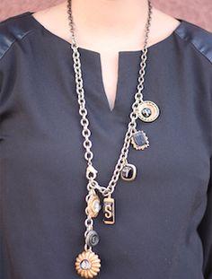 Trendy Jewelry   Twisted Silver   Celebrity Jewelry   Funky Jewelry - Twisted necklace