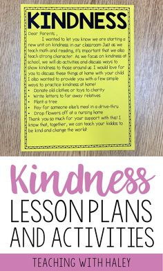 Before students are ready to talk about things like self-control and mindfulness, they need to be comfortable talking about their feelings. Kindness is a great place to start your social-emotional curriculum and I'm excited to share some of my favorite ideas with you! | lessons on kindness, kindness in the classroom, how to teach kindness, kindness lesson plans, character lessons #kindnesslessons #growthmindset #characterlessons