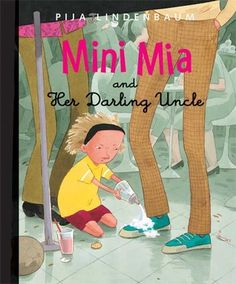Genre: Contemporary Realistic Fiction Picture BookMini Mia and Her Darling Uncle by Pija Lindenbaum is about a young girl and her uncle as they go about their eventful day.
