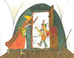 Schellenursli by Alois Carigiet Princess Zelda, Tapestry, Costumes, Book Illustrations, Gates, Switzerland, Prints, Fictional Characters, Art