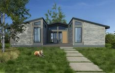 A design by prefab-builders Living Homes.