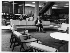 Just enjoying a good book, at Central in 1963.