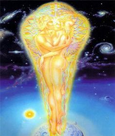 Signs of a twin flame union based on 20 years of experience of twin flames, Mel and Nicole of the Gold Ray Twin Flames Tantra, Art Amour, Art Visionnaire, Twin Flame Love, Twin Flames, Flame Art, Spiritual Love, Spiritual Awakening, Templer