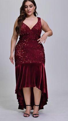 Fashion Terms, Women's Fashion, Curvy Women Fashion, Plus Size Fashion, Elegant Dresses, Beautiful Dresses, Best African Dresses, Beautiful Prayers, Ever Pretty