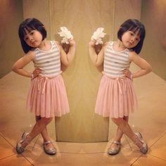 Kana Sybilla Bramantyo. very cute n expressive. . :)