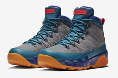 Bright Colors Cover This Air Jordan 9 Boot NRG The Air Jordan 9 Boot NRG is b806e3e47