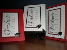 GRAD CAPS FLOATING IN THE AIR! by coffeestamper - Cards and Paper Crafts at Splitcoaststampers