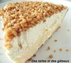 """Pus communément appelée """" la brésilienne """", cette tarte est extrêmement simple à réaliser. INGREDIENTS ET RECETTE ( pour un moule de 24/35 mm ) PATE LEVEE 300 gr de farine tamisée 150 gr de beurre en parcelles 20 gr de levure fraîche 1 oeuf 6 cl de lait... Thermomix Desserts, Köstliche Desserts, Delicious Desserts, Dessert Recipes, Yummy Food, Belgium Food, Sweet Cooking, Sweet Cakes, Sweet And Salty"""