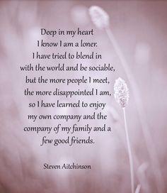 Deep in my heart ...