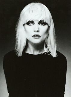 Debbie Harry (1945) - American singer-songwriter and actress best known for being the lead singer of the punk rock and new wave band Blondie. Photo by Steven Meisel