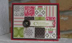 a very merry Christmas by stamp_pad - Cards and Paper Crafts at Splitcoaststampers
