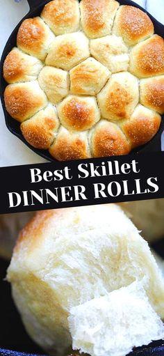 Easy Homemade Rolls, Easy Yeast Rolls, Homemade White Bread, Homemade Dinner Rolls, Easy Rolls, Bread Rolls, Homemade Breads, Dinner Rolls Easy, Sweet Dinner Rolls