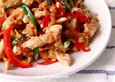 thai ginger chicken stir-fry gai pad khing
