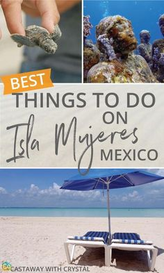 The BEST Things to do on Isla Mujeres, Mexico | What to do in Isla Mujeres? | Diving Isla Mujeres | Punta Sur Isla Mujeres | Island of women | Isla Mujeres map #Isla #Mujeres #diving #turtles #best #things
