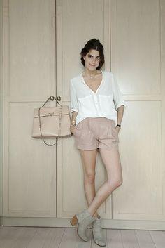 Leather Shorts.