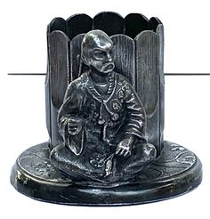 Oriental, Plate, Chinese Man, Antiques For Sale, See Picture, Napkin Rings, Bookends, Museum, Victorian