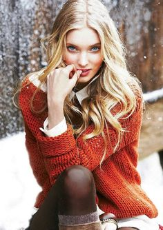 """""""I'm sorry..."""" She said slowly, her sky blue eyes flitting upward to meet mine. """"Do I know you?"""" The snow swirled softly around her dissolving against her sweater and brushed against her golden curled hair."""