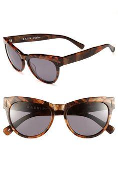 Fall cat-eye sunglasses.
