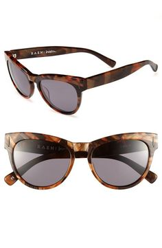 Fall cat-eye sunglasses.