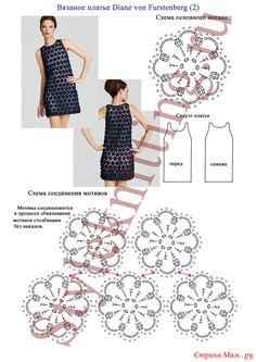 Вязаное платье Diane von Furstenberg. Обсуждение на LiveInternet - Российский Сервис Онлайн-Дневников