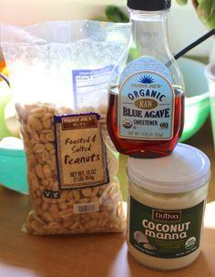Recipe: Rich and Creamy Coconut Peanut Butter | Bonzai Aphrodite