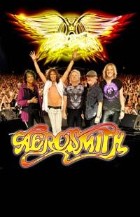 Aerosmith...saw them in Bossier City...didn't fully understand people's fascination with Steven Tyler...until I was 3 feet away...yea...I get it now