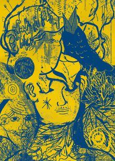 Durbanite designer/illustrator/avid screen printer Dustin Holmes