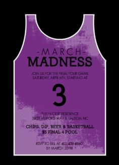 March Madness Party Ideas From PurpleTrail