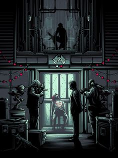 Die Hard Classic Movie Poster Collection - Created by Dan Mumford
