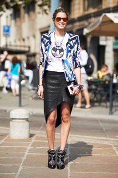 Fashion ›Street Chic› Ciao Bellas!