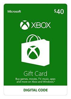 Xbox $40 Gift Card [Online Game Code] by Microsoft via https://www.bittopper.com/item/271087942e472c0ae0e13aab707a5c782f80f4/