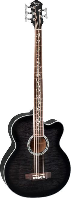 Dragonfly 5 Acoustic Bass | Michael Kelly Guitar Co.