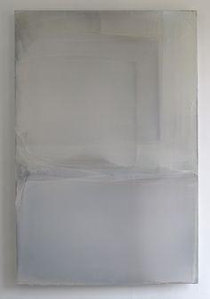 Matt McClune, Large White Composition (Burgundy Light), 2010-2012
