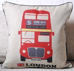 New Modern Luxury Lodon Red Bus UK Flag Date Printed Thick Cotton Fashion Art Decorative Pillow Case Cushion Cover Sham Gift Great Deal Happy,http://www.amazon.com/dp/B00EHMKU48/ref=cm_sw_r_pi_dp_xj1Esb1PEFG568DW