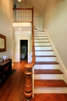 Farmhouse traditional staircase - traditional is sublime