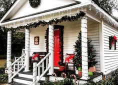 Little White House in Blackburn Park Downtown Bay Minette,  AL