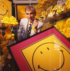 Harvey Ball invented the Smiley in Worcester. He also attended the Worcester Art Museum School.