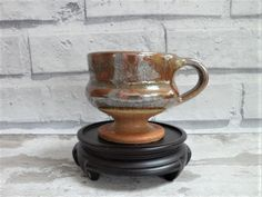 Aylesford Priory Stoneware Cup  or Jug The Friars Vintage British Studio Pottery