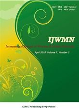 The International Journal of Wireless & Mobile Networks (IJWMN) is a bi monthly open access peer-reviewed journal that publishes articles which contribute new results in all areas of Wireless & Mobile Networks.   http://airccse.org/journal/ijwmn.html