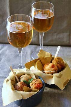 Polpettine di gamberi e zucchine: aperitivo time!