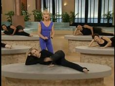 I've been doing this (off and on) since Max was a baby...the BEST! Mari Winsor Pilates Buns & Thigh - Video Dailymotion