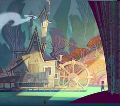 W is for Whimsical Watermill (by Dominick Domingo)
