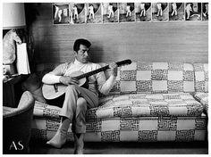 Dean Martin at home 1966
