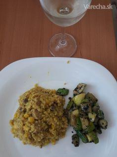 Krémové karí rizoto z bulguru - Recept Risotto, Grains, Rice, Ethnic Recipes, Food, Bulgur, Essen, Meals, Seeds