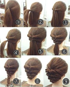 Image result for Easy Updos For Medium Hair